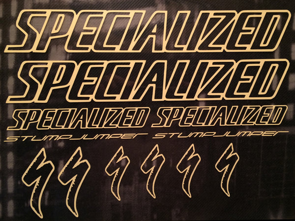 Specialized Stumpjumper Outlined Graphics Set.