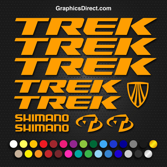 Trek Replacement Vinyl Decal Graphic Sticker Set MTB DH XC Bike