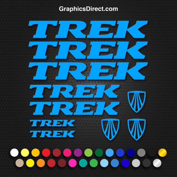 Trek Replacement Vinyl Decal Graphic Sticker Set MTB DH XC Bike V3