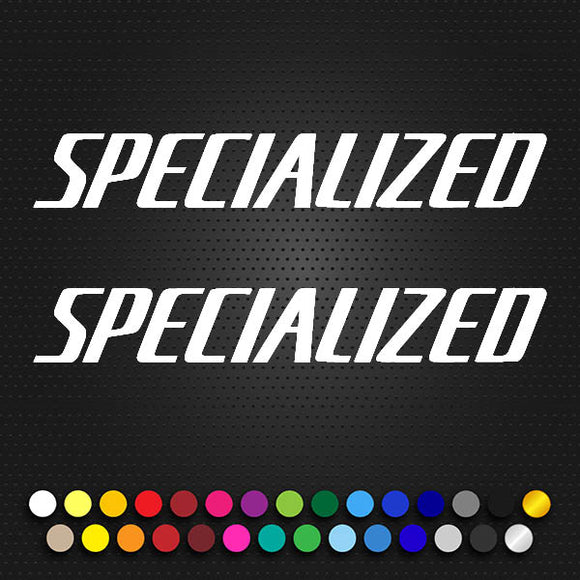 Specialized Ariel Large Text Decal. (104P5)