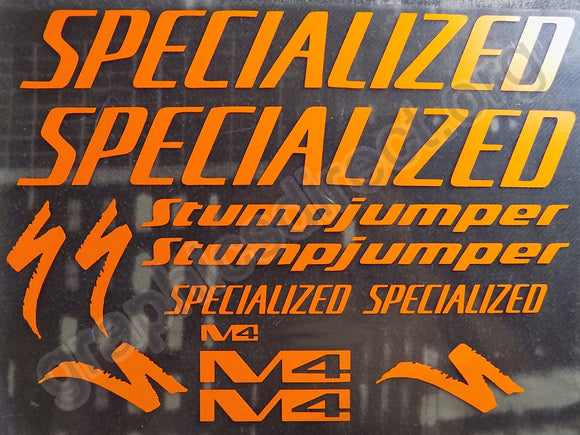 Specialized M4 Stumpjumper Graphics Set (114)