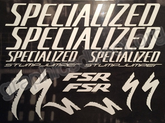 Specialized Stumpjumper Fsr Graphics Set. (124)