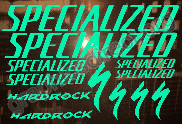 Specialized Hardrock Luminous Graphics Set.