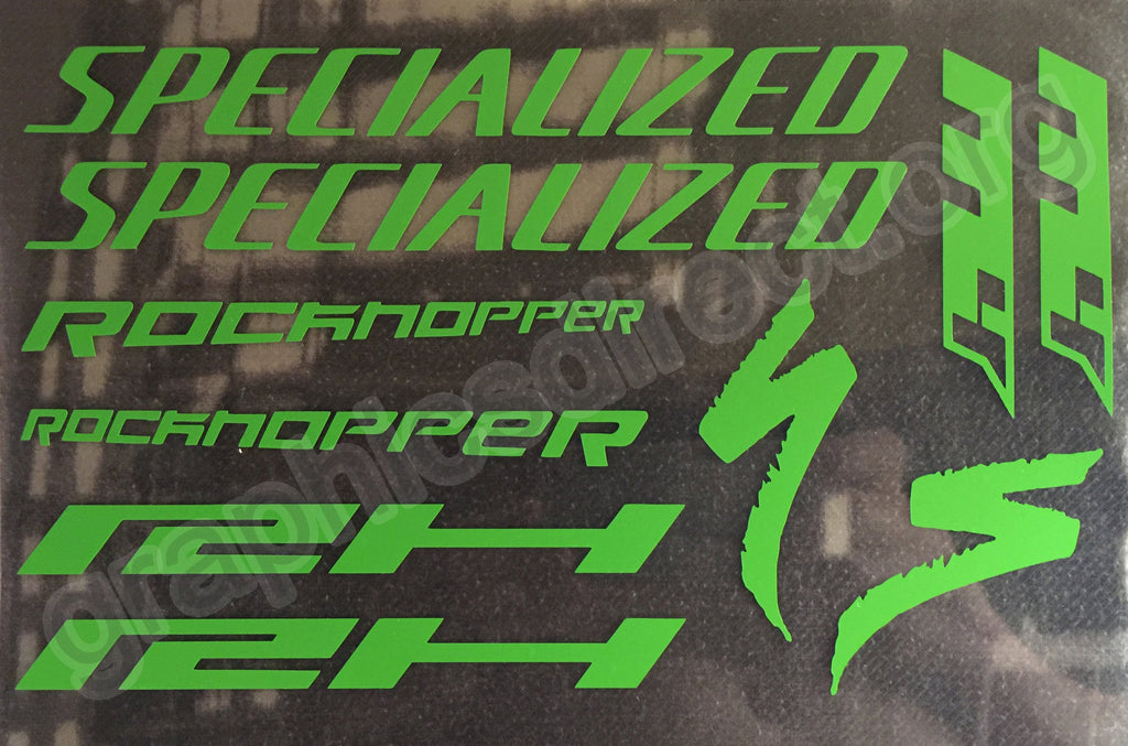 Specialized Rockhopper M4 sticker set