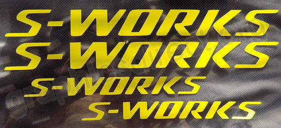 Specialized S-Works Sticker Decal Graphics. (134)