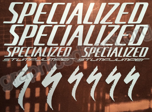 Specialized Stumpjumper Graphics Set. (128)