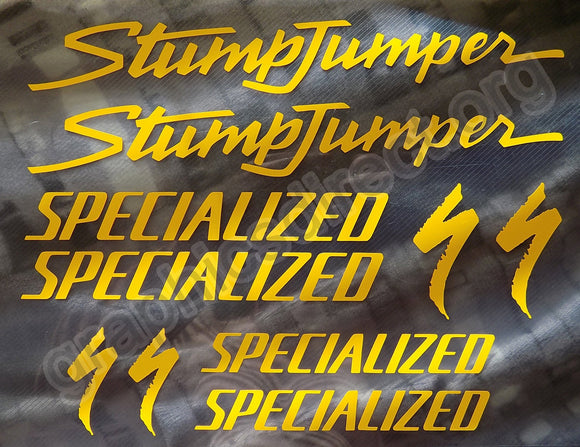 Specialized Retro Stumpjumper Graphics Set. (121)