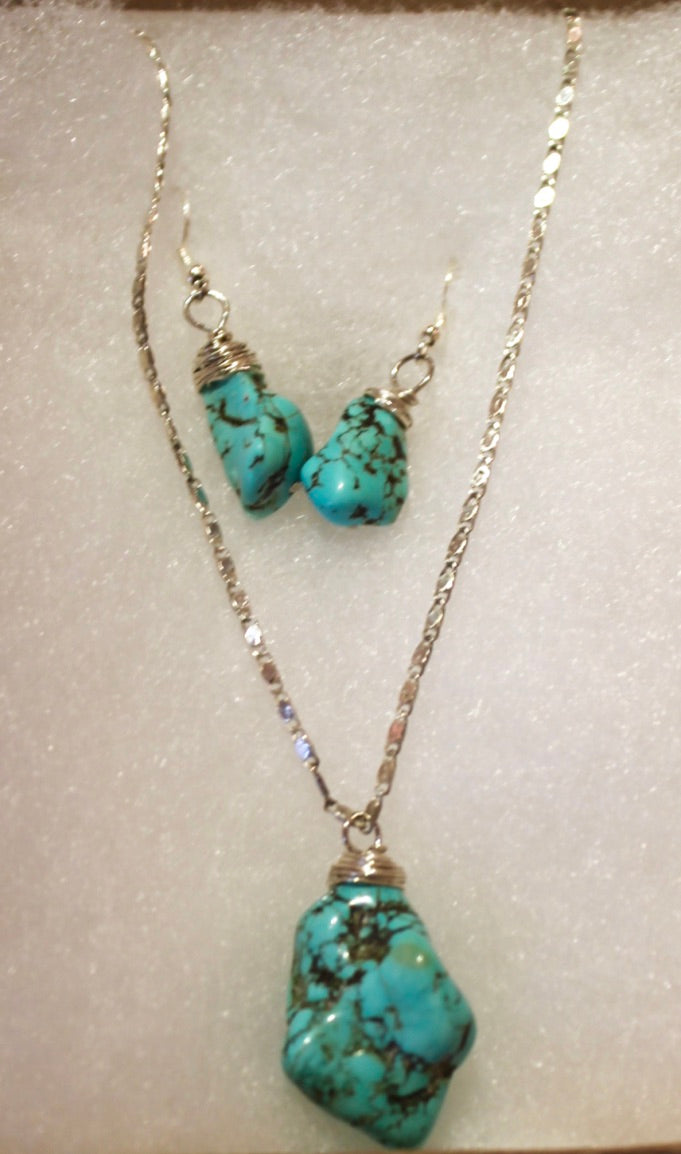 Turquoise Necklace by Khosla