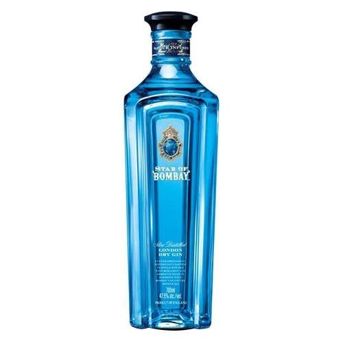 Gin Star Of Bombay Dry Gin - lamantequeria