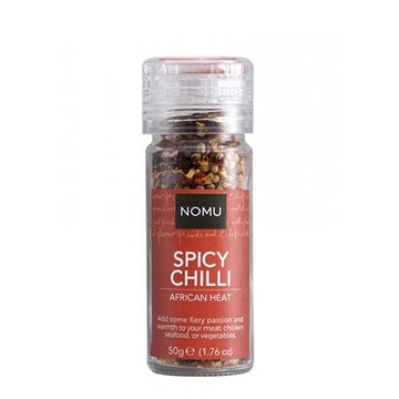 Molinillo spicy chilli nomu 50 gr - lamantequeria