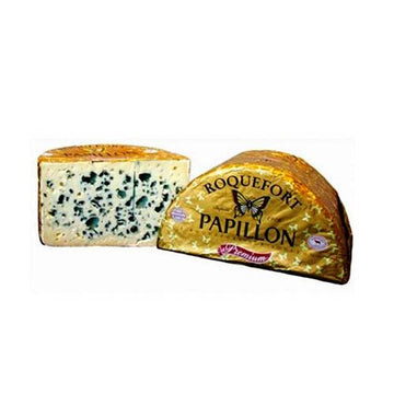 Queso Roquefort 330G Papillon - lamantequeria