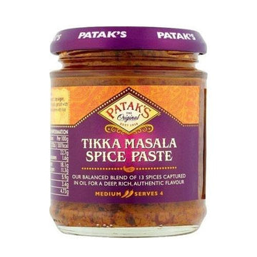 Tikka Masala Paste Curry Patak's 165 gr - lamantequeria