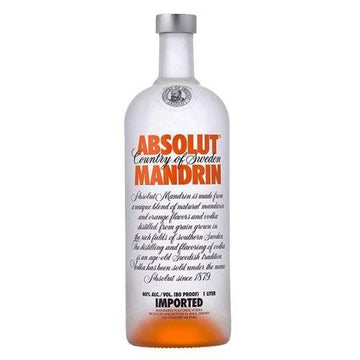 Vodka Absolut Mandarin - lamantequeria