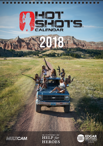 Hot Shots Calendar Pack 2018 (A4 Calendar, Playing Cards & 4 Posters)