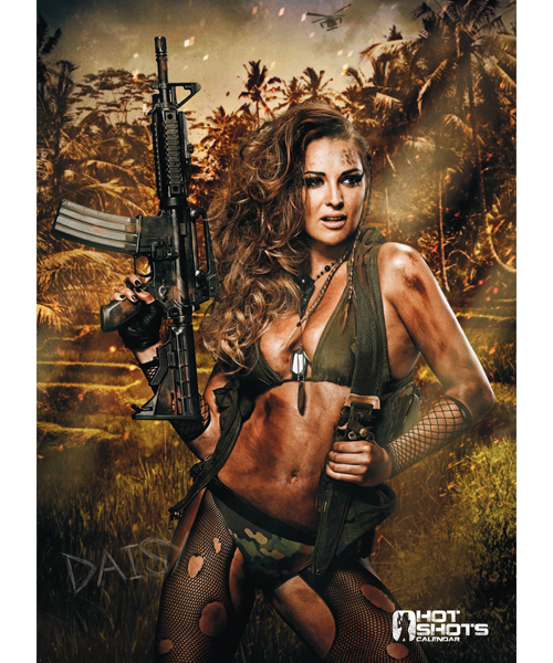 Hot Shots A2 Poster 2016 - Daisy Watts