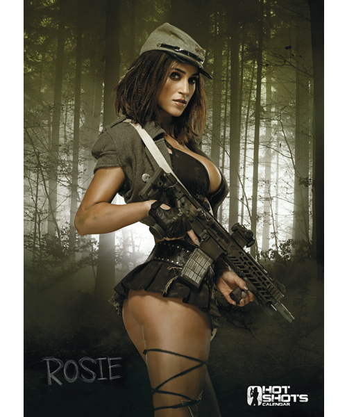 Hot Shots A2 Poster 2016 - Rosie Jones