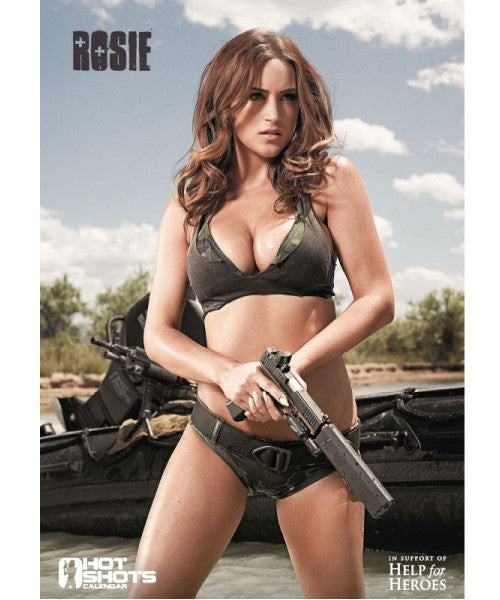 Hot Shots Poster - Rosie Jones