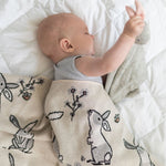 Load image into Gallery viewer, Di Lusso Living - Baby Blanket - Barnie Bunny