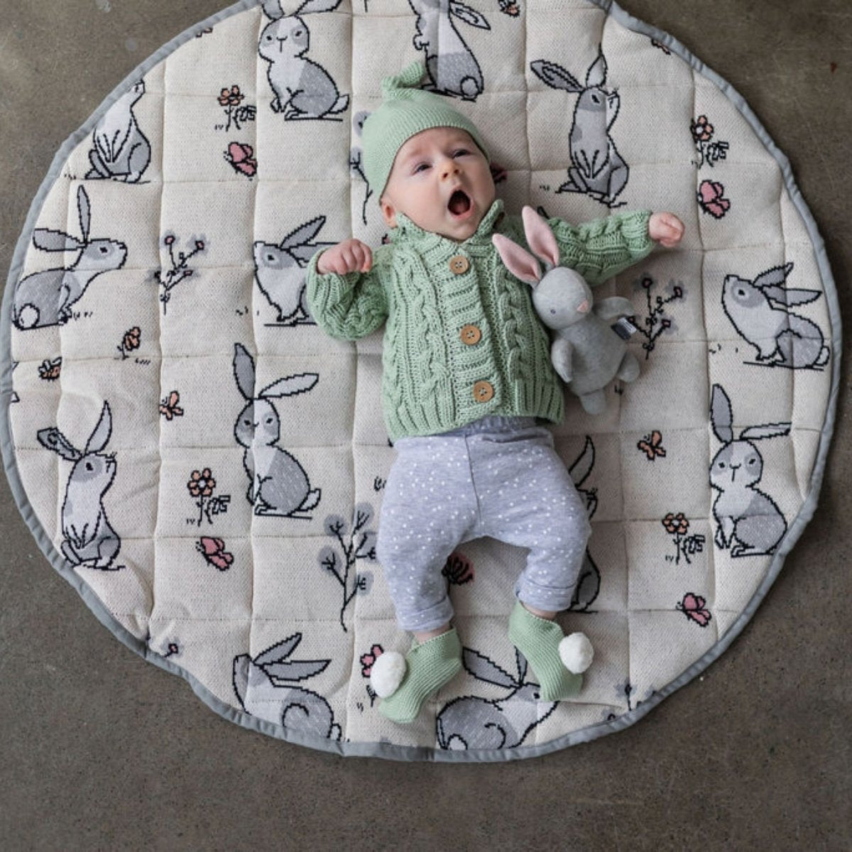 Di Lusso Living - Play Mat - Barnie Bunny