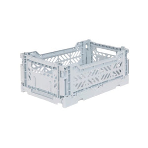 Aykasa - Mini Folding Crate - Cotton Blue