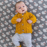 Load image into Gallery viewer, Di Lusso Living - Jamie Knit Cardigan - Mustard