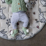 Load image into Gallery viewer, Di Lusso Living - Frankie Baby Booties - Mint