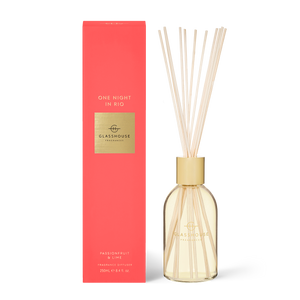 Glasshouse Fragrances 250ml Diffuser - ONE NIGHT IN RIO - Passionfruit & Lime