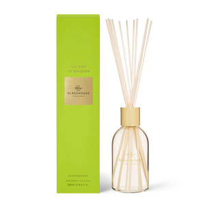 Glasshouse Fragrances 250ml Diffuser - WE MET IN SAIGON - Lemongrass