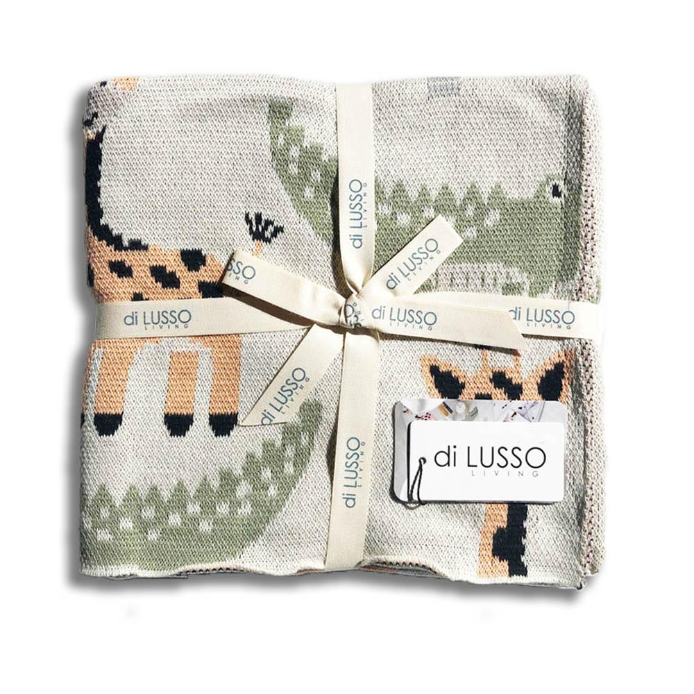 Di Lusso Living - Baby Blanket - Jungle Safari