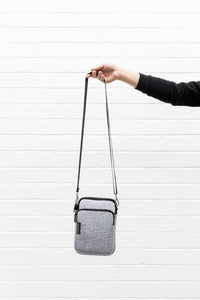 Prene Bags - The Mimi Bag - Light Grey Marle
