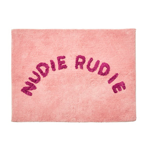 Sage and Clare - TULA NUDIE BATH MAT - Blush