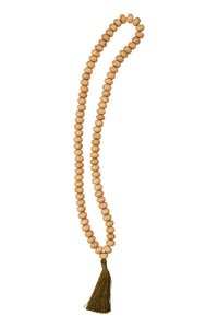 Tassel Necklace - Natural