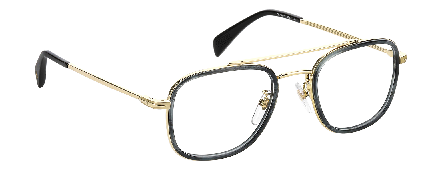 DB 7012 - Grey Horn Gold - Clear