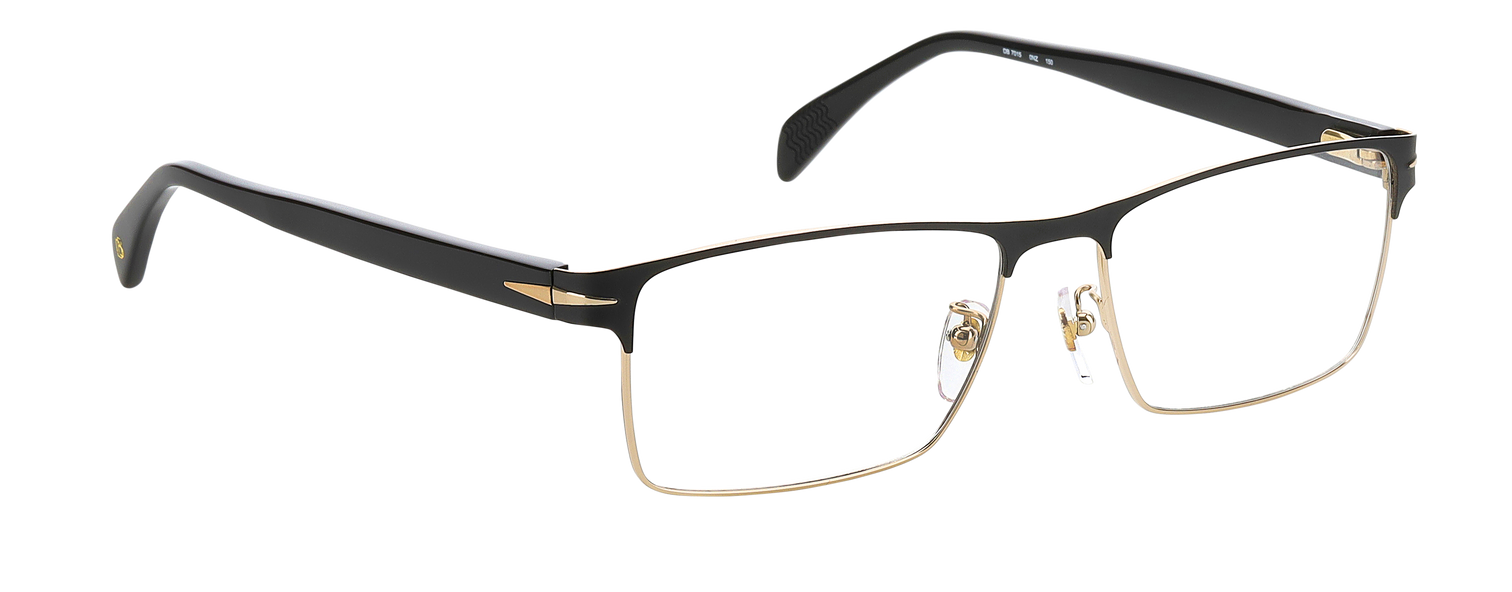 DB 7015 - Matte Gold Black - Clear