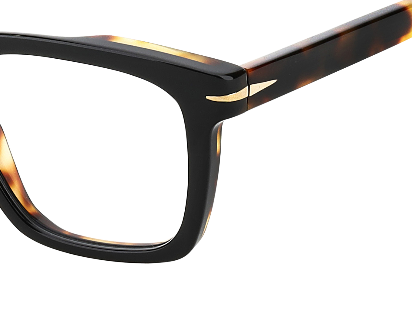 DB 7020 - Black Havana - Clear