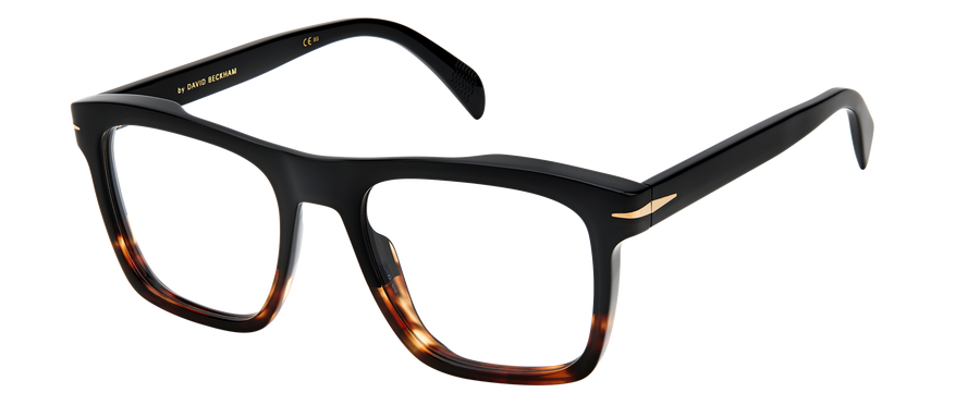 DB 7020 - Black Shaded Brown - Frames