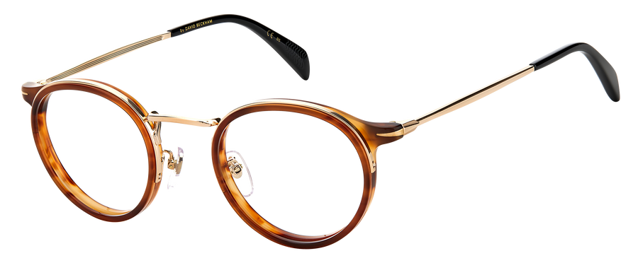 DB 1024 - Brown Horn Gold - Frames