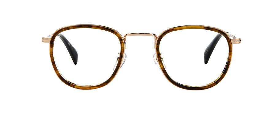 DB 1025 - Striped Brown Light Gold - Frames