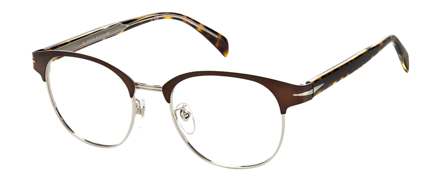 DB 7027/G - Opaquebrown Mattpalladium - Frames