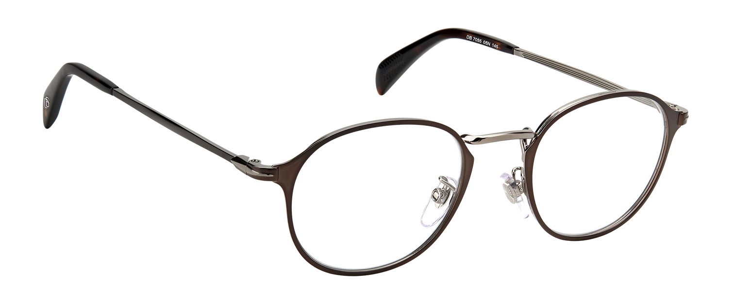 DB 7055 - Matte Brown Ruthenium - Frames