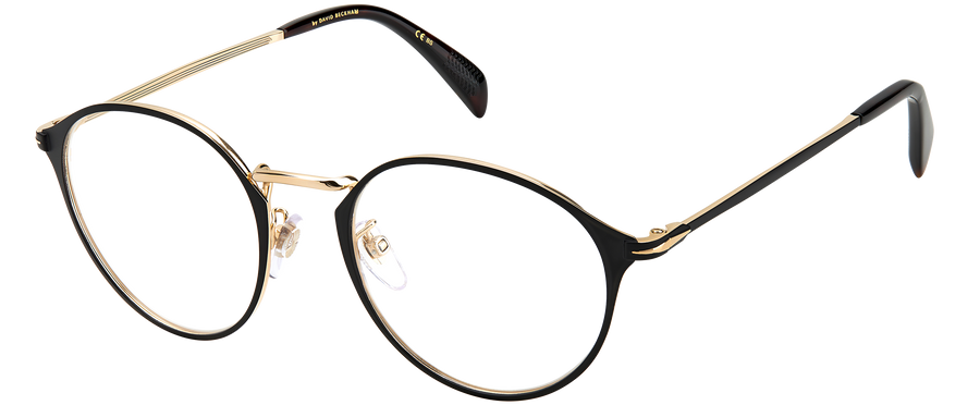 DB 7056 - Matt Black Gold - Frames