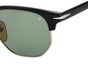 DB 1002/S - Black Ruthenium - Green Lightgreen Antireflex