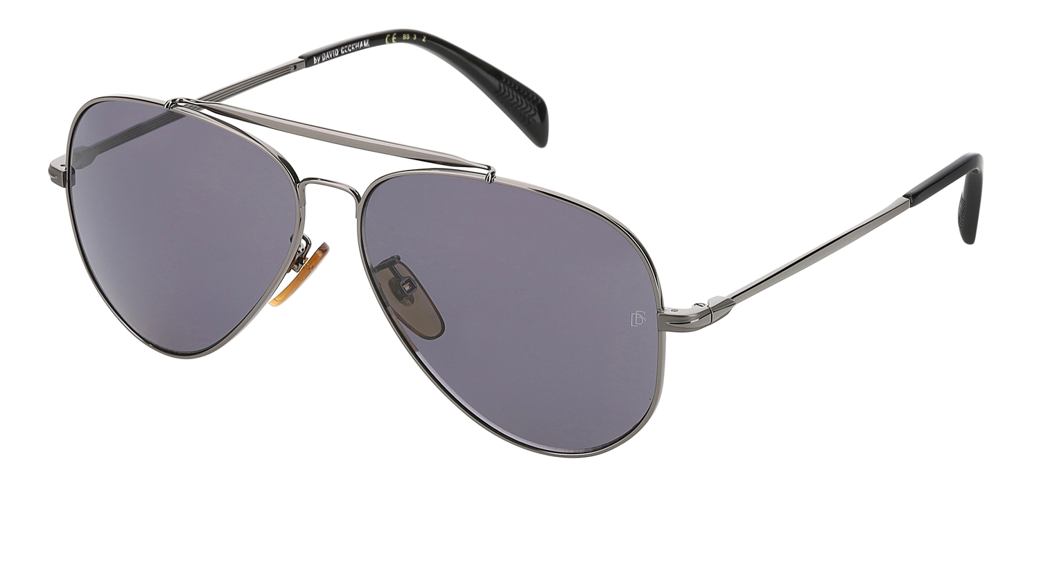 DB 1004/S - Dark Ruthenium Black - Grey Polarized