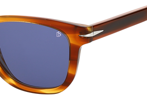 DB 1006/S - Brown Horn - Blue Avio