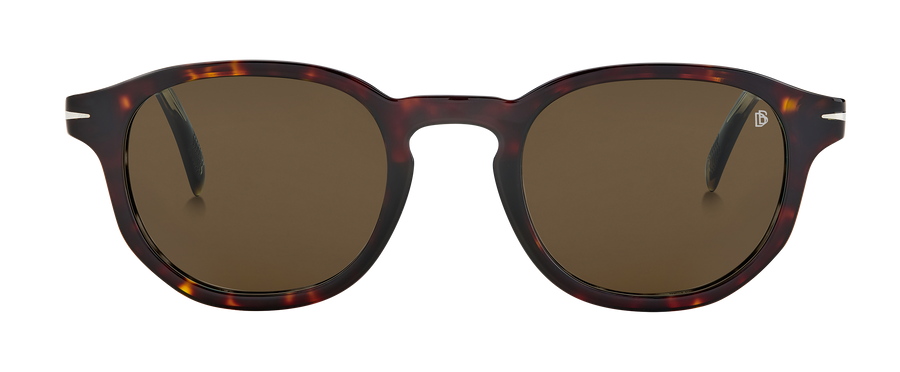 DB 1007/S - Brown Havana - Green Lightgreen Antireflex