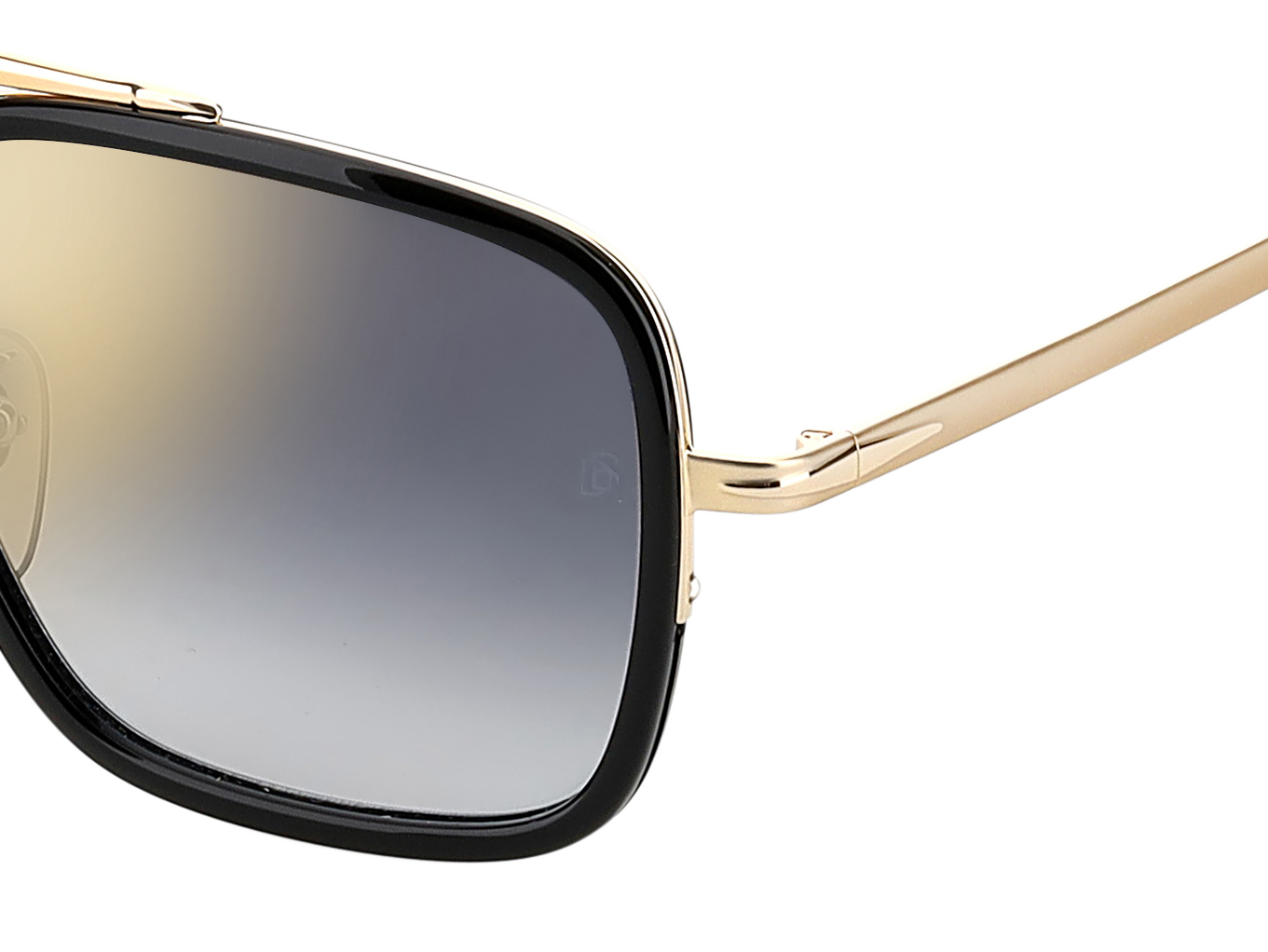 DB 7002/S - Gold Black - Grey Shaded Gold Mirror