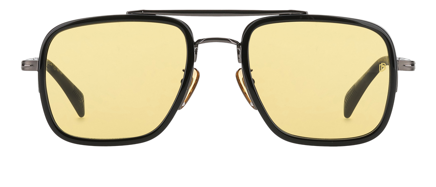 DB 7002/S - Dark Ruthenium Black - Yellow Photocromatic
