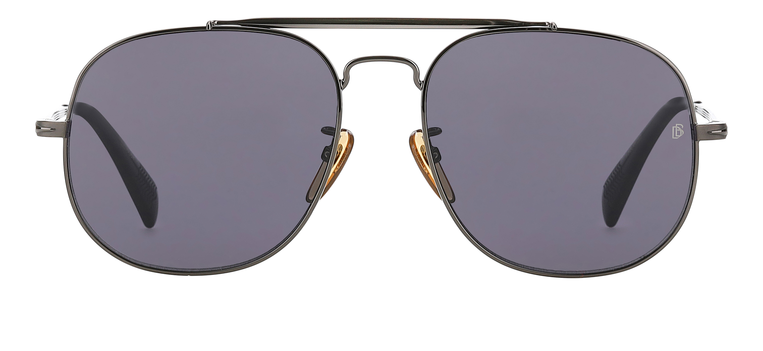 DB 7004/S - Dark Ruthenium Black - Grey Polarized