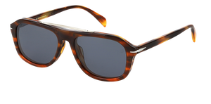 DB 7006/G/CS - Brown Horn - Blue Avio Polarized