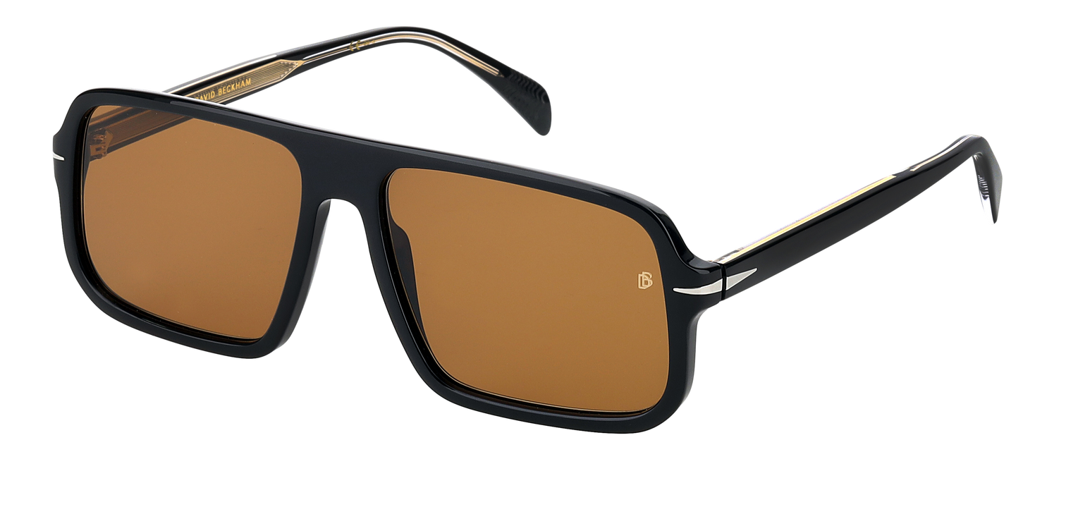 DB 7007/S - Black - Brown